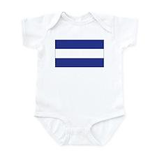 El Salvador Civil Ensign Infant Bodysuit