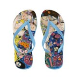 Klimt - The Virgin Flip Flops