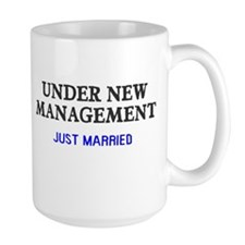 Under New Management Married Mug