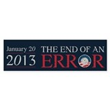 End of Error Bumper Sticker