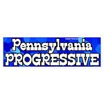 Pennsylvania Progressive bumper sticker
