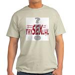 Trysexual Design 1 Ash Grey T-Shirt