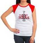 Trysexual Design 1 Women's Cap Sleeve T-Shirt