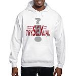 Trysexual Design 1 Hooded Sweatshirt