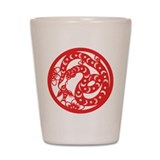 Snake Zodiac Shot Glass