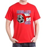 England World Soccer 2006 Black T-Shirt