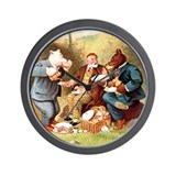 Roosevelt Bears and King Edward Wall Clock
