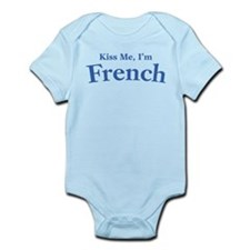 Kiss Me, I'm French Infant Bodysuit