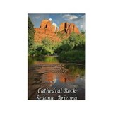Cathedral Rock, Sedona, AZ Rectangle Magnet