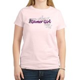 Gamer Girl -Gun & Swirls T-Shirt