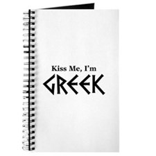 Kiss Me, I'm Greek Journal