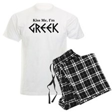 Kiss Me, I'm Greek pajamas
