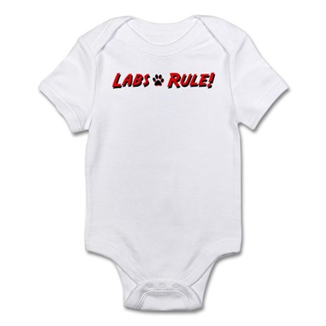 Labs Rule Infant Creeper
