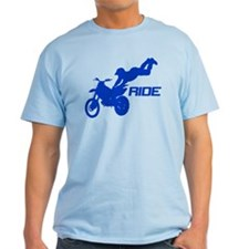 Ride Blue T-Shirt