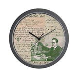 Dashing Edwardian Man Wall Clock