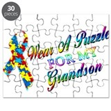 I Wear A Puzzle for my Grands Puzzle