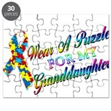 I Wear A Puzzle for my Grandd Puzzle