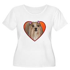 Valentine's Shih Tzu T-Shirt