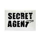 SECRET AGENT SHIRT TEE KIDS S Rectangle Magnet