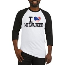I LOVE MILWAUKEE Baseball Jersey