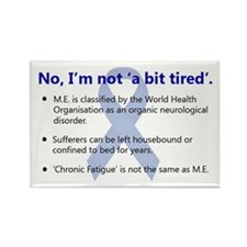 ME Awareness Rectangle Magnet (100 pack)