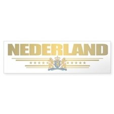 """Netherlands Gold"" Bumper Sticker"