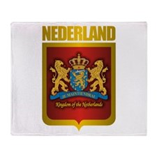 """Netherlands Gold"" Throw Blanket"