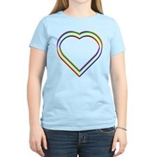 Rainbow Heart T-Shirt