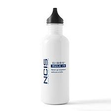 NCIS Gibbs' Rule #9 Water Bottle