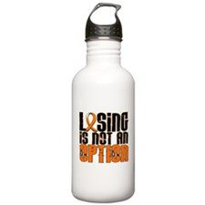 Losing Is Not An Option MS Sports Water Bottle