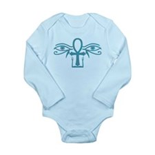 Egyptian Face Long Sleeve Infant Bodysuit