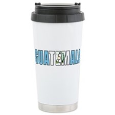 Guatemala Ceramic Travel Mug