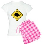 Turtle Crossing Sign Women's Light Pajamas
