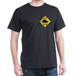 Turtle Crossing Sign Dark T-Shirt