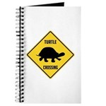 Turtle Crossing Sign Journal
