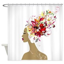 Good Hair Day Shower Curtain