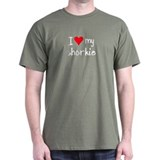 I LOVE MY Shorkie T-Shirt