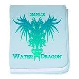 Chinese Water Dragon 2012 baby blanket
