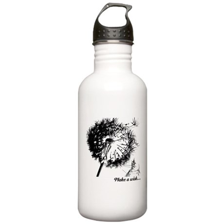 Make a Wish on Stainless Water Bottle 1.0L