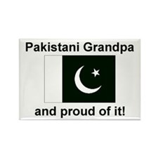 Pakistani Grandpa Rectangle Magnet
