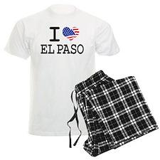 I LOVE EL PASO Pajamas