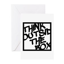 Think Outside the Box Greeting Cards (Pk of 10)