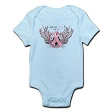 I Wear Pink for my Mother In Infant Bodysuit