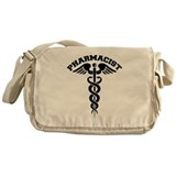 Pharmacist Caduceus Messenger Bag