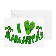 I love Margaritas Greeting Cards (Pk of 10)