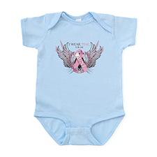 I Wear Pink for my Aunt Infant Bodysuit