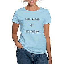 Owl Farm Peacocks T-Shirt