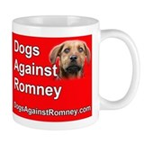 Official Dogs Against Romney &amp;quot;Rusty&amp;quot; Coffee Mug