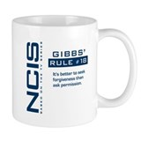 NCIS Gibbs' Rule #18 Small Mug