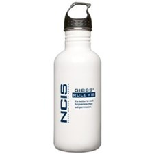 NCIS Gibbs' Rule #18 Water Bottle
